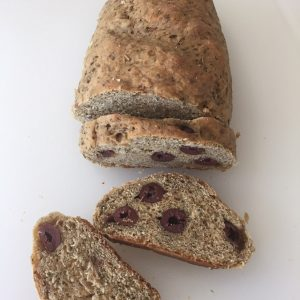 Olive Bread Total Health Kamut