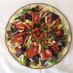 Salad without sprouts